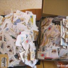 Sellos: LOTE +5000 ATM ETIQUETAS USADAS EN EUROS Y EN PESETAS ENORME!!!. Lote 180078691