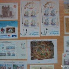 Sellos: LOTE DE HOJAS BLOQUE DE SELLOS DE ESPAÑA. Lote 180183171