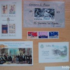 Sellos: LOTE DE HOJAS BLOQUE DE SELLOS DE ESPAÑA. Lote 180183467