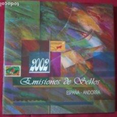 Sellos: EMISIONES DE SELLOS ESPAÑA- ANDORRA 2002. COMPLETO.. Lote 180186603