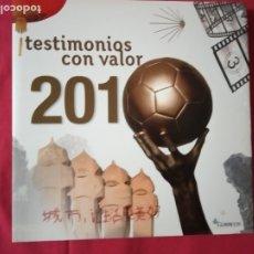 Sellos: LIBRO OFICIAL DE CORREOS EMISIÓNES DE SELLOS ESPAÑA Y ANDORRA 2010. ÁLBUM COMPLETO.. Lote 180187240