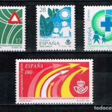 Sellos: ESPAÑA 1993 - EDIFIL 3237/40** - SERVICIOS PÚBLICOS. Lote 180189161