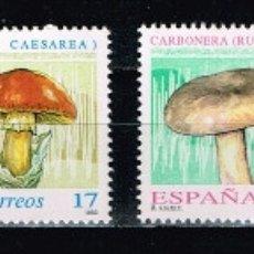 Sellos: ESPAÑA 1993 - EDIFIL 3244/47** - MICOLOGÍA. Lote 180189281
