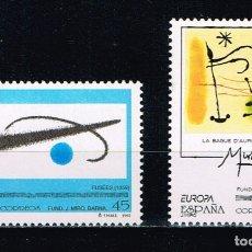 Sellos: ESPAÑA 1993 - EDIFIL 3250/51** - EUROPA. Lote 180189350