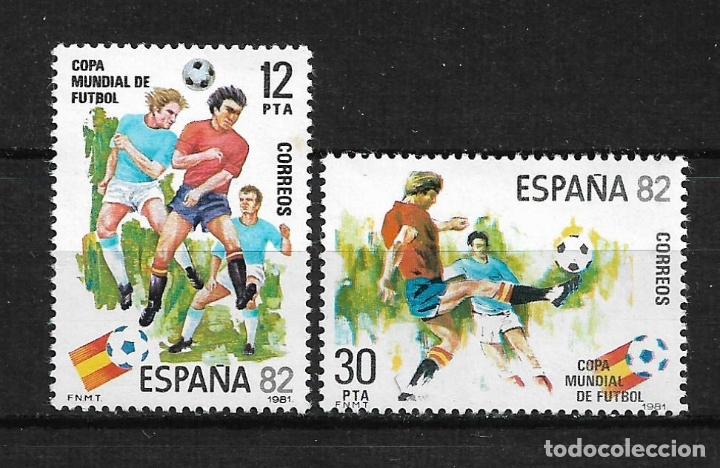 ESPAÑA 1981 EDIFIL 2613/2614 ** - 7/6 (Sellos - España - Juan Carlos I - Desde 1.975 a 1.985 - Nuevos)