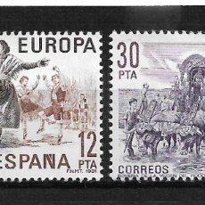 Sellos: ESPAÑA 1981 EDIFIL 2615/2616 ** - 7/6. Lote 180251923