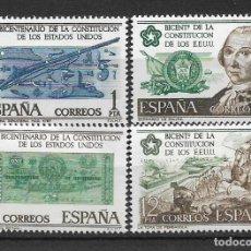 Sellos: ESPAÑA 1976 EDIFIL 2322/2325 ** - 7/9. Lote 180254241