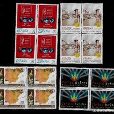 Sellos: JUAN CARLOS I - EDIFIL 3651-54 - 1999 - CENTENARIOS - BLOQUE DE CUATRO. Lote 180262128