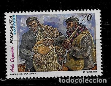 JUAN CARLOS I - EDIFIL 3656 - 1999 - ARTE ESPAÑOL - VELA ZENETTI (Sellos - España - Juan Carlos I - Desde 1.986 a 1.999 - Nuevos)