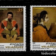 Sellos: JUAN CARLOS I - EDIFIL - 3658-59 - 1999 - 400 ANIVERSARIO DEL NACIMIENTO DE DIEGO VELAZQUEZ. Lote 180263410