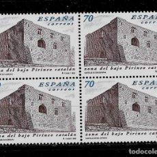 Sellos: JUAN CARLOS I - EDIFIL 3661 - 1999 - ZONA DEL BAJO PIRINEO CATALAN - BLOQUE DE CUATRO. Lote 180264398