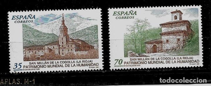 JUAN CARLOS I - EDIFIL 3662-63 - 1999 - BIENES NATURALES Y CULTURALES - PATRIMONIO HUMANIDAD (Sellos - España - Juan Carlos I - Desde 1.986 a 1.999 - Nuevos)