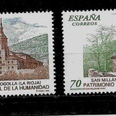 Sellos: JUAN CARLOS I - EDIFIL 3662-63 - 1999 - BIENES NATURALES Y CULTURALES - PATRIMONIO HUMANIDAD. Lote 180264721