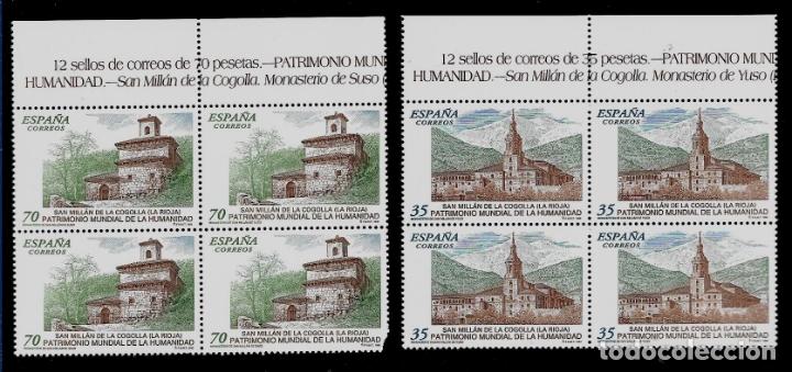 JUAN CARLOS I - EDIFIL 3662-63 - 1999 - BIENES CULTURALES Y NATURALES - BLOQUE DE CUATRO (Sellos - España - Juan Carlos I - Desde 1.986 a 1.999 - Nuevos)