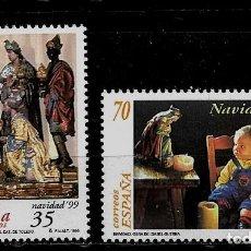 Selos: JUAN CARLOS I - EDIFIL 3685-86 - 1999 - NAVIDAD 1999. Lote 180266491