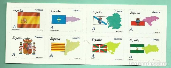HB 2009 , 8 SELLOS TARIFA A. AUTONOMÍAS 30% DESCUENTO. (Sellos - España - Juan Carlos I - Desde 2.000 - Nuevos)