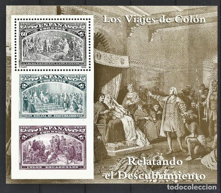 LOS VIAJES DE COLON - 500 ANIVERSARIO (Sellos - España - Juan Carlos I - Desde 1.975 a 1.985 - Nuevos)