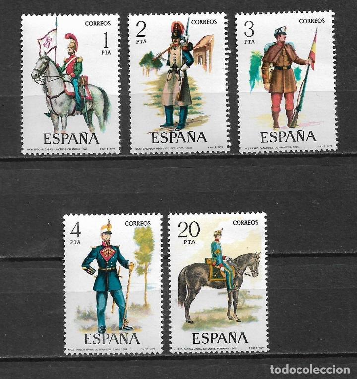 ESPAÑA 1977 EDIFIL 2381/2385 ** - 7/10 (Sellos - España - Juan Carlos I - Desde 1.975 a 1.985 - Nuevos)