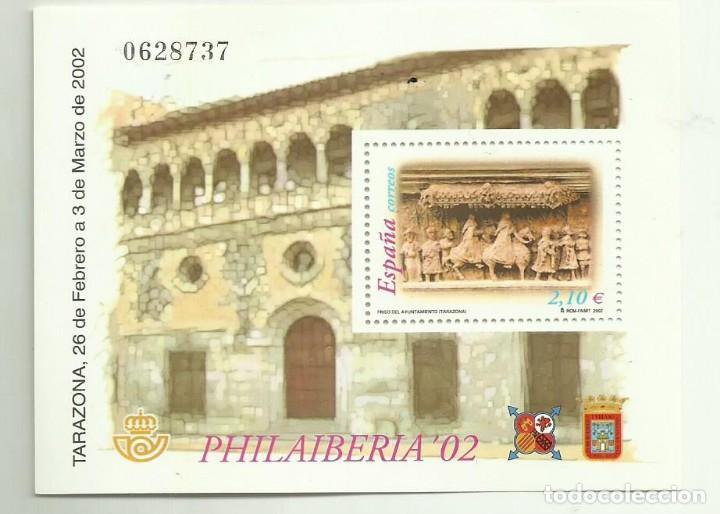 HB 2002 PHILAIBERIA. SELLO DE 2,10 EUROS, 30% DESCUENTO (Sellos - España - Juan Carlos I - Desde 2.000 - Nuevos)
