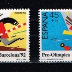 Sellos: ESPAÑA 1988 - EDIFIL 2963/66** - BARCELONA'92. I SERIE PRE-OLÍMPICA. Lote 180426803