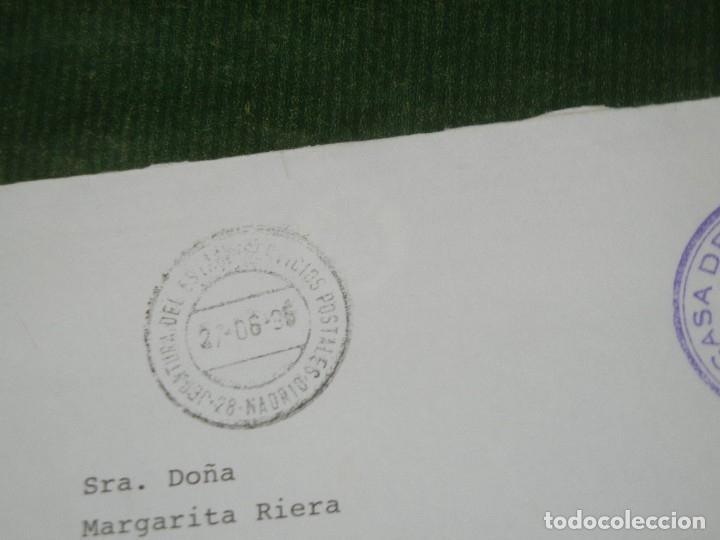 Sellos: FRANQUICIA CASA DE S.M. EL REY PROTOCOLO - JEFATURA DEL ESTADO SERVICIOS POSTALES 1995 - Foto 2 - 180427032