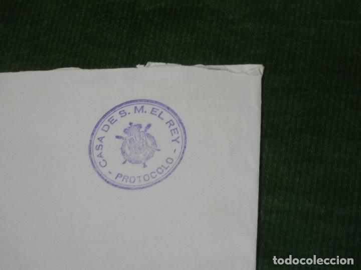 Sellos: FRANQUICIA CASA DE S.M. EL REY PROTOCOLO - JEFATURA DEL ESTADO SERVICIOS POSTALES 1995 - Foto 3 - 180427032