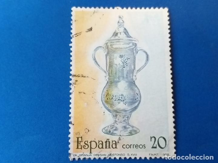 USADO. AÑO 1988. EDIFIL Nº 2943. ARTESANIA ESPAÑOLA (Sellos - España - Juan Carlos I - Desde 1.986 a 1.999 - Usados)