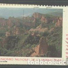 Sellos: ESPAÑA - AÑO 2000 - EDIFIL 3729 - BIENES CULTURALES Y NATURALES PATRIMONIO MUNDIAL DE LA HUMANIDAD -. Lote 180878172