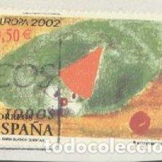 Sellos: ESPAÑA - AÑO 2002 - EDIFIL 3896 - EUROPA - EL CIRCO - USADO. Lote 180878481