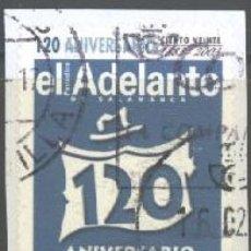 Sellos: ESPAÑA - AÑO 2003 - EDIFIL 4002 - EL ADELANTO DE SALAMANCA - USADO. Lote 180878691