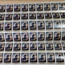 Sellos: PLIEGO DE 80 SELLOS DE ESPAÑA AÑO 1977 EDIF.2429. Lote 180894626
