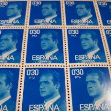 Sellos: PLIEGO DE 100 SELLOS AÑO 1977 EDIF. 2388. Lote 180899301