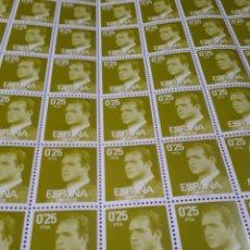 Sellos: PLIEGO DE 100 SELLOS DE ESPAÑA AÑO 1977 EDIF.2387. Lote 180900181