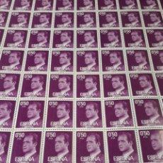 Sellos: PLIEGO DE 100 SELLOS AÑO 1977 EDIF. 2389. Lote 180900301