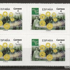 Sellos: R13.G2/ ESPAÑA 2019, MNH**, EFEMERIDES, AUTOADHESIVOS. Lote 181074383