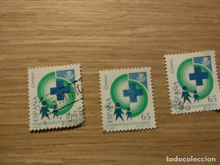 EDIFIL 3239, SANIDAD, DE LA SERIE: SERVICIOS PÚBLICOS. AÑO 1993 (Sellos - España - Juan Carlos I - Desde 1.986 a 1.999 - Usados)
