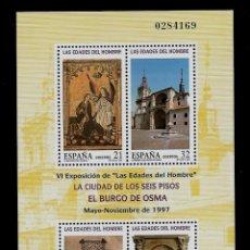 Sellos: JUAN CARLOS I - EDIFIL 3494 - 1997 - LAS EDADES DEL HOMBRE. Lote 181132662