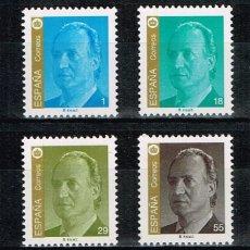 Sellos: ESPAÑA 1994 - EDIFIL 3305/08** - S.M. DON JUAN CARLOS I. Lote 181208743