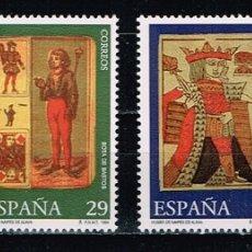 Sellos: ESPAÑA 1994 - EDIFIL 3317/20** - MUSEO DE NAIPES. Lote 181209308