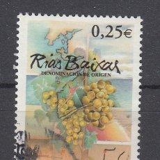 Sellos: ESPAÑA 3909 USADA, VINOS CON DENOMINACION DE ORIGEN, RIAS BAIXAS. Lote 181214451