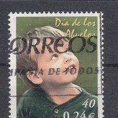 Sellos: ESPAÑA 3811 USADA, DIA DE LOS ABUELOS . Lote 181214716