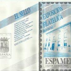 Sellos: ESPAÑA 1987. Lote 181615308