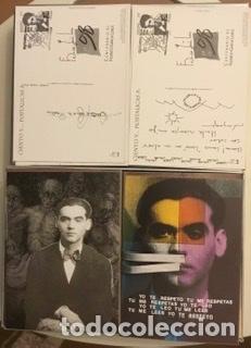 """Sellos: 1998-ESPAÑA Caja """"Cientos de postalicas Federico García Lorca"""" - más de 250 postales - - Foto 36 - 147482198"""