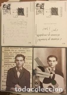 """Sellos: 1998-ESPAÑA Caja """"Cientos de postalicas Federico García Lorca"""" - más de 250 postales - - Foto 44 - 147482198"""