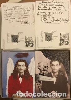 """Sellos: 1998-ESPAÑA Caja """"Cientos de postalicas Federico García Lorca"""" - más de 250 postales - - Foto 46 - 147482198"""
