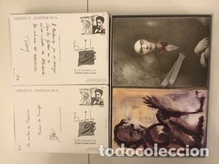 """Sellos: 1998-ESPAÑA Caja """"Cientos de postalicas Federico García Lorca"""" - más de 250 postales - - Foto 54 - 147482198"""