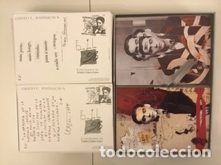 """Sellos: 1998-ESPAÑA Caja """"Cientos de postalicas Federico García Lorca"""" - más de 250 postales - - Foto 57 - 147482198"""