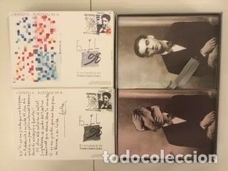 """Sellos: 1998-ESPAÑA Caja """"Cientos de postalicas Federico García Lorca"""" - más de 250 postales - - Foto 59 - 147482198"""