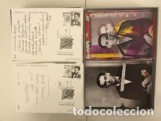 """Sellos: 1998-ESPAÑA Caja """"Cientos de postalicas Federico García Lorca"""" - más de 250 postales - - Foto 73 - 147482198"""