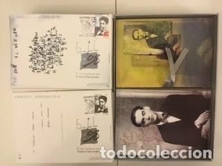 """Sellos: 1998-ESPAÑA Caja """"Cientos de postalicas Federico García Lorca"""" - más de 250 postales - - Foto 75 - 147482198"""
